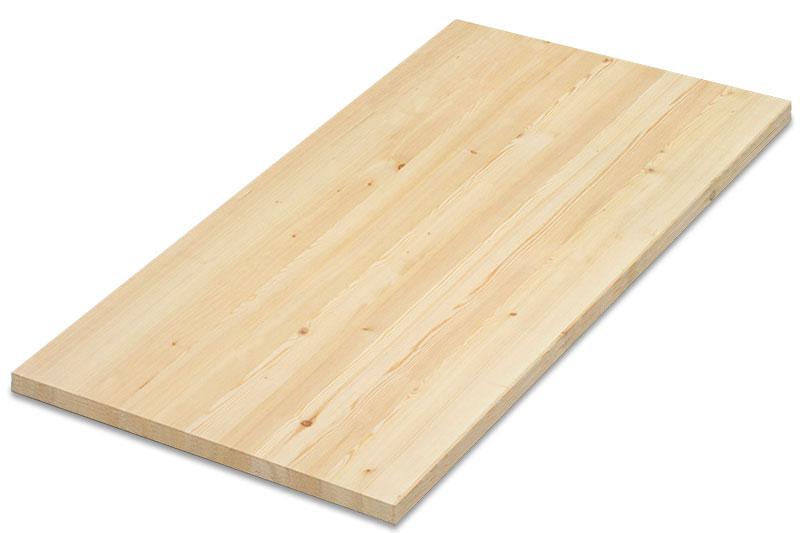 Купить мебельный щит цельноламельный из ясеня, толщина 40